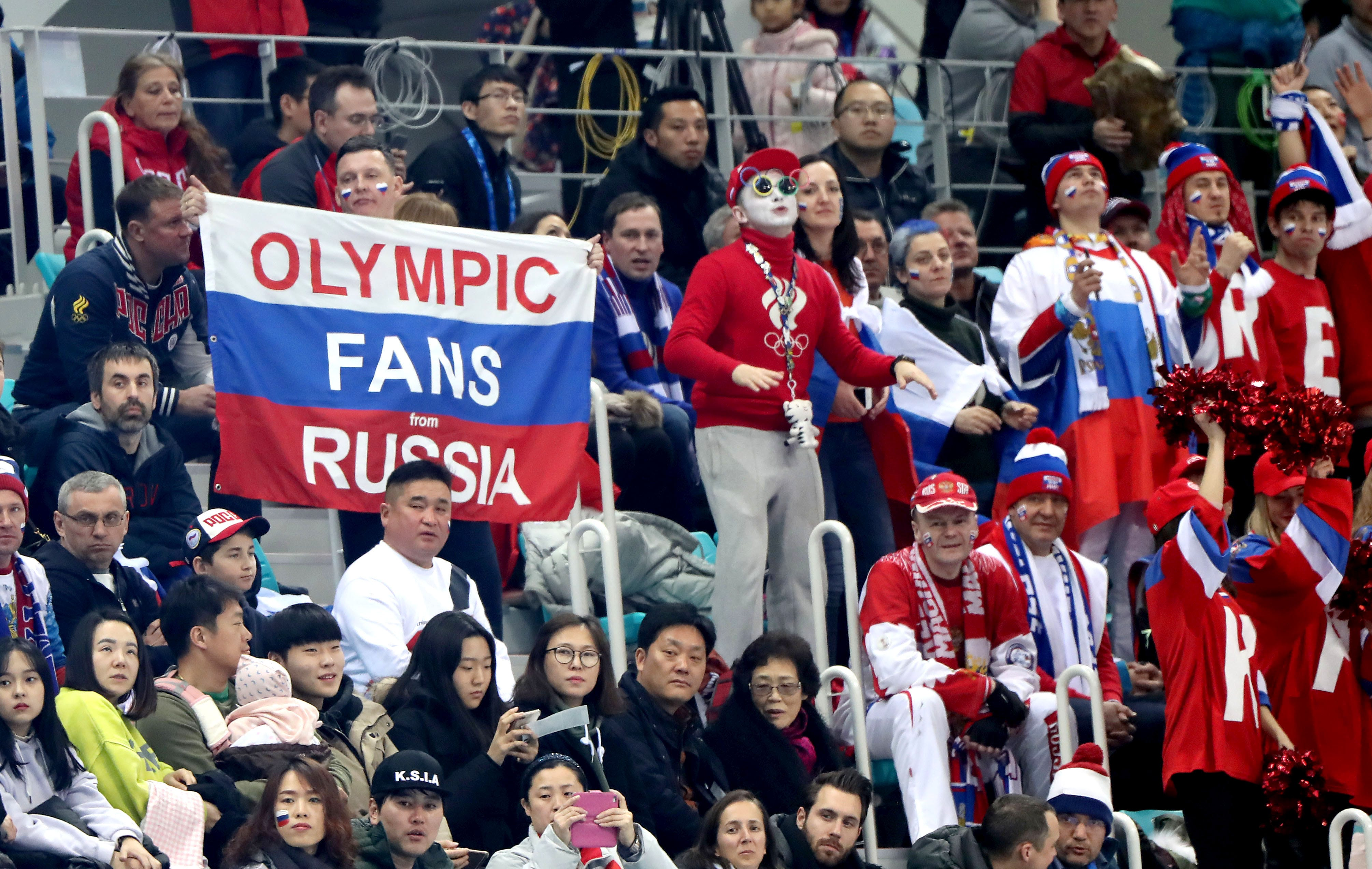The IOC removed the Russian team from the Olympics in South Korea 05/12/2017 20