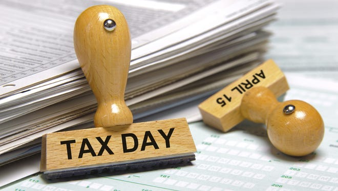 Tax Day is April 15.