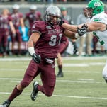 Montana defensive end Tyrone Holmes was selected by the Jacksonville Jaguars on Saturday in the NFL Draft.