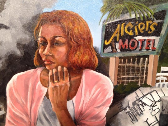 """On the Edge"" by Carole Morisseau features her mother,"