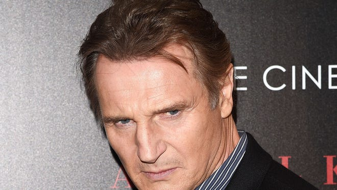 """Liam Neeson attends a screening of """"A Walk Among the Tombstones."""""""