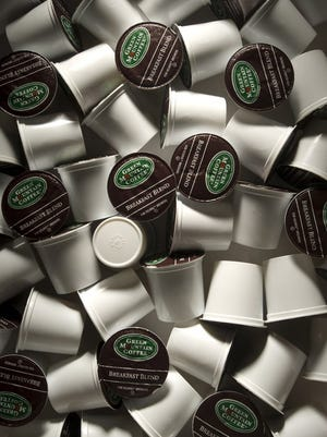 Single-serve coffee pods made by Keurig Green Mountain, based in Waterbury, Vermont.