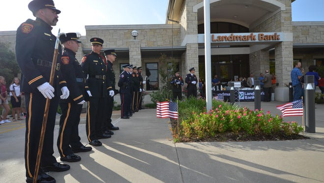 A local assistant police chief recalls the events of Sept. 11, 2001 and the impact it had on law enforcement, and first responders across the country. The observance that was previously held at Simmons bank has moved to the Grayson County Courthouse this year.