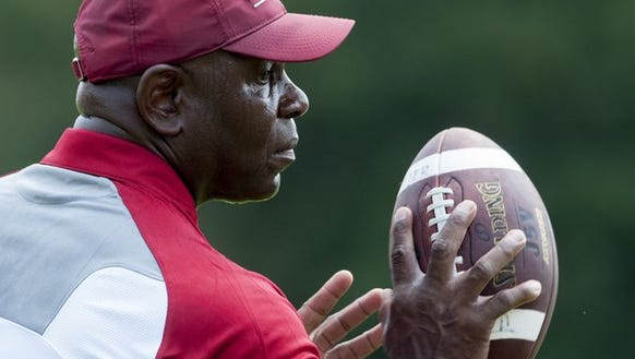 Tuskegee coach Willie Slater and his Tigers remain