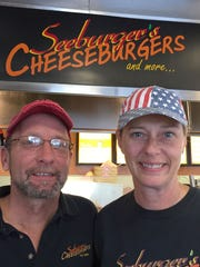Todd and Jill Seeburger of Roseville.