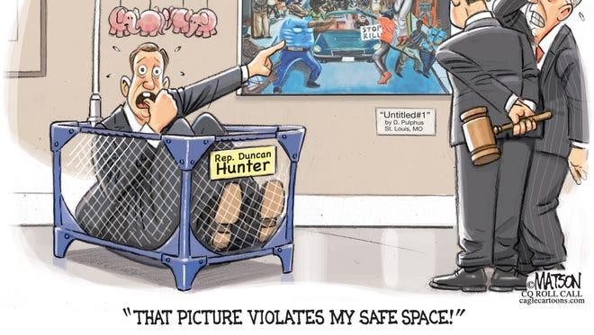 Student Art Violates Congressman's Safe Space