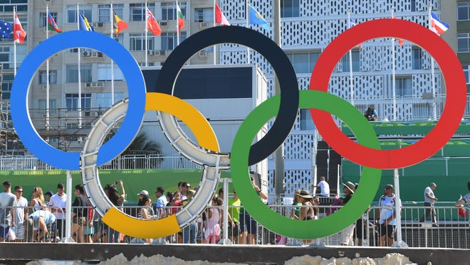 The Olympic rings are gong year round with a new web site.
