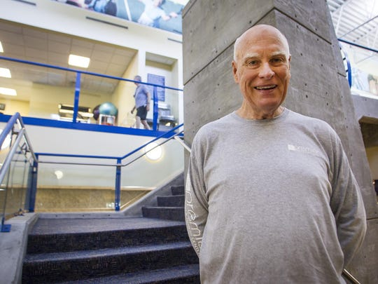 Retired U.S. Air Force Senior Master Sergeant, Steve Sullivan has taken matters into his own hands to improve his cardiovascular health. The 71 year old Fitbit user climbs stairs and has racked up more than 36,000 flights of stairs in the past 15 months.