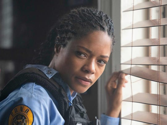"Naomie Harris plays a New Orleans cop in ""Black and Blue."""