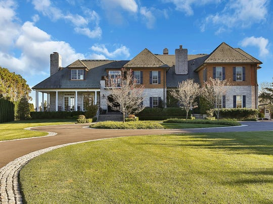 The 7,000-square-foot Shore colonial has six bedrooms and eight bathrooms.