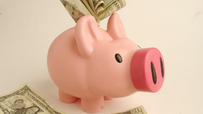Piggy Bank studio photo.