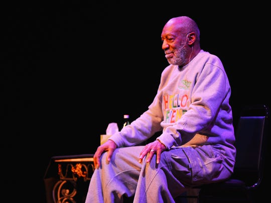 Bill Cosby performs at the King Center on Friday, Nov. 21, 2014.