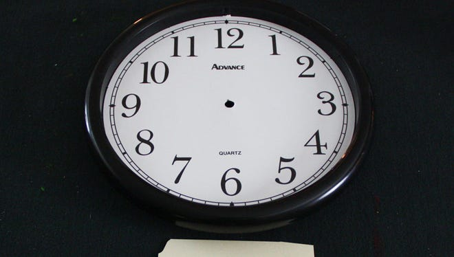 What time is it this morning?