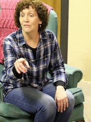 """Lori Boettler plays Millie in the Theater Ensemble Arts production of the comedy """"Exit Laughing."""""""
