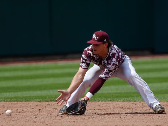 Jeremy Eierman during Missouri State's 14-9 win over