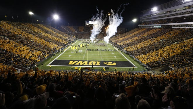 Less than 5,000 student season tickets have been sold for 2015 games at Kinnick Stadium.