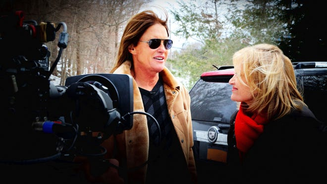 The first time he questioned his gender was as an eight or nine year old boy living in Tarrytown, Bruce Jenner told Diane Sawyer.