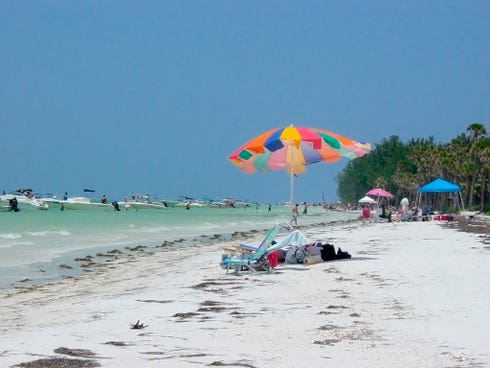Florida's Anclote Key Preserve State Park is popular with boaters and birders.