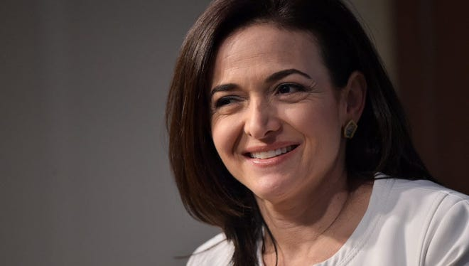 Facebook Chief Operating Officer Sheryl Sandberg speaking The American Enterprise Institute for Public Policy Research in June.