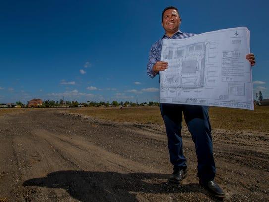 Dan Creighton, of Creighton construction, has new development