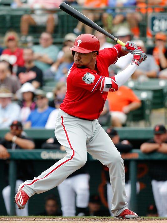 MLB: Spring Training-Philadelphia Phillies at Baltimore Orioles