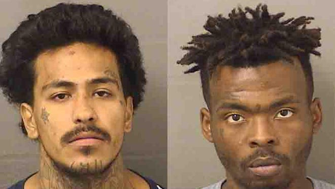 Authorities arrested Jesse Cavazos, left, and Ke Entrae McKiver in February 2020 on first-degree murder charges.