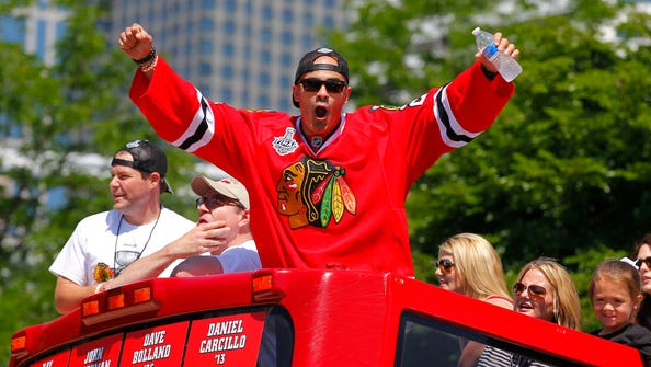 Jamal Mayers announced his retirement from the NHL after 14 seasons on Friday.