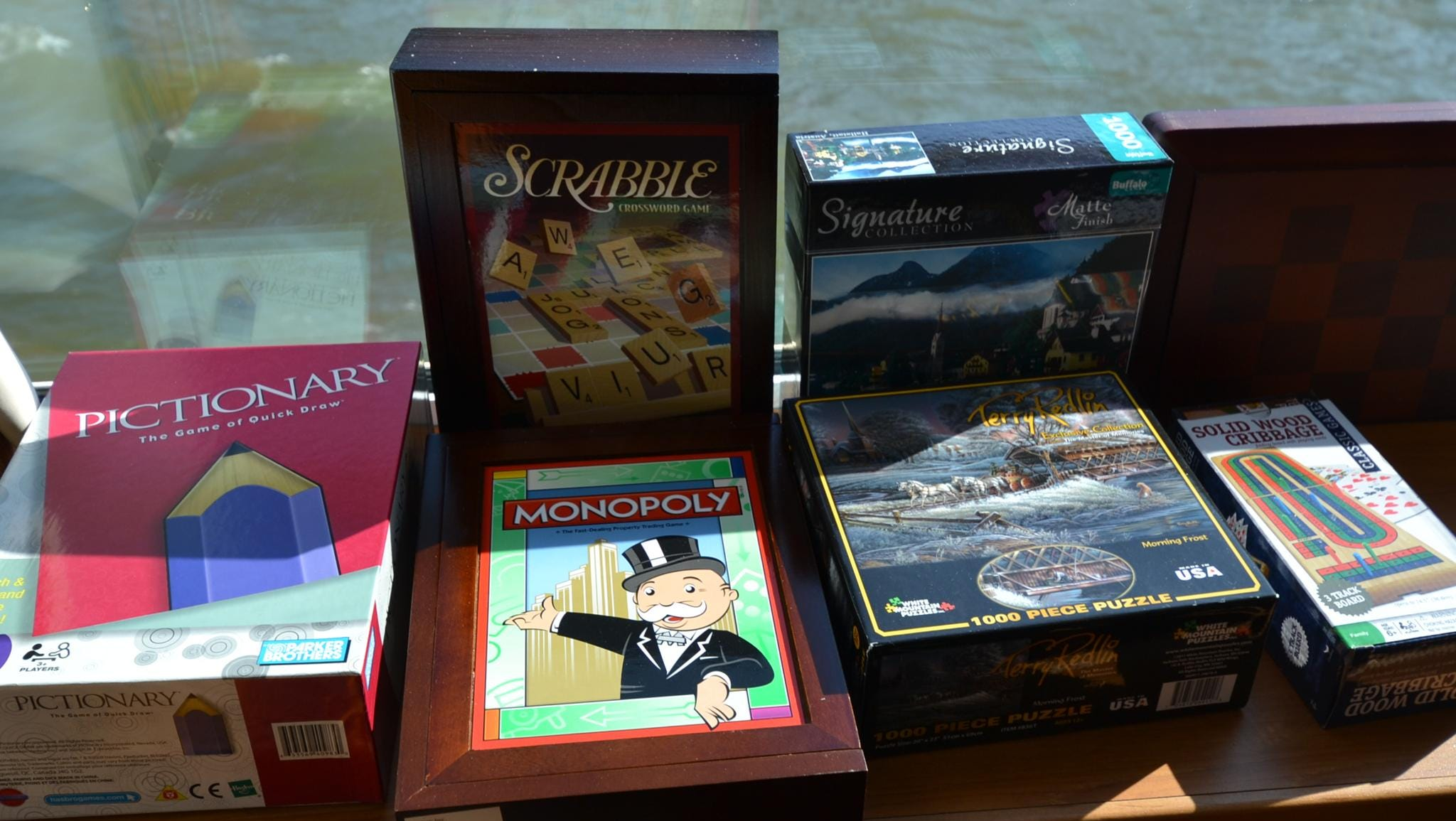 The Latitude 52 Lounge also is stocked with games.