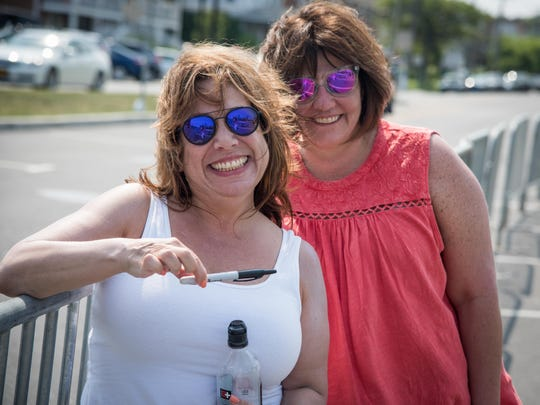 6/18/1  Asbury residents  (L-R) Jill Felsenstein  and