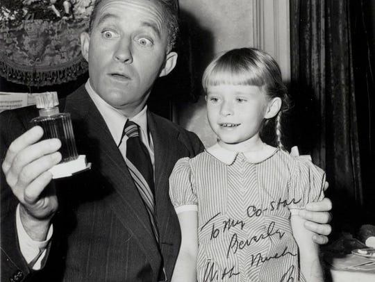 A signed photo from Bing Crosby to Beverly Washburn