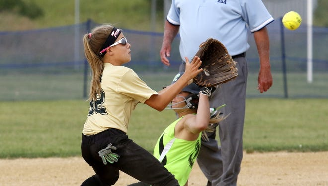 The Lady Rebels play the TC Tremors in a 14-under game last year at the NY Lady Rebels 2017 Northeast Open at the Holding Point Recreation Complex in Horseheads. The Lady Rebels and TC Tremors both have teams competing in the Buffalo Wild Sing FURYous Summer Invitational.