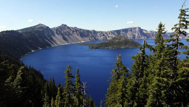 Crater Lake, Oregon's only national park, features nearly unlimited recreation options in and around the six-mile-wide caldera. One source of stunning views is Rim Village.
