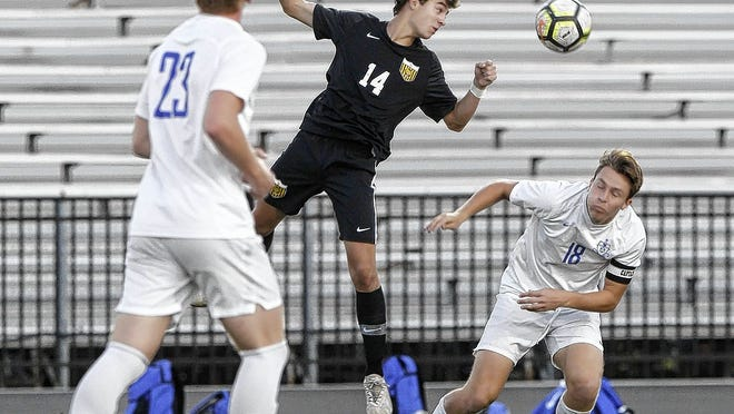 Senior forward Alex Woods is among the top scorers for the Upper Arlington boys soccer team, which returns nine starters from last year's squad that went 13-5-2 overall and 4-1 in the OCC-Central Division.