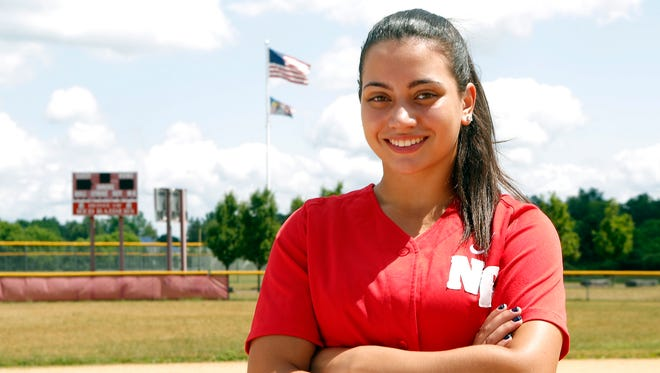 Kayla McDermott, Rockland softball player of the year, photographed at North Rockland Hiigh School on Wednesday, June 29, 2016.