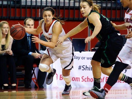 usd und women's basketball