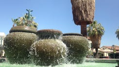 village green fountain