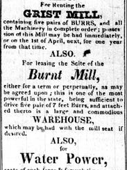 Ad in The Gazette (York, Pa.) issue of Nov. 27, 1832 (Newspaper Microfilms at York County Heritage Trust)