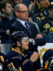 Sabres coach Dan Bylsma may be on the hot seat in Buffalo.