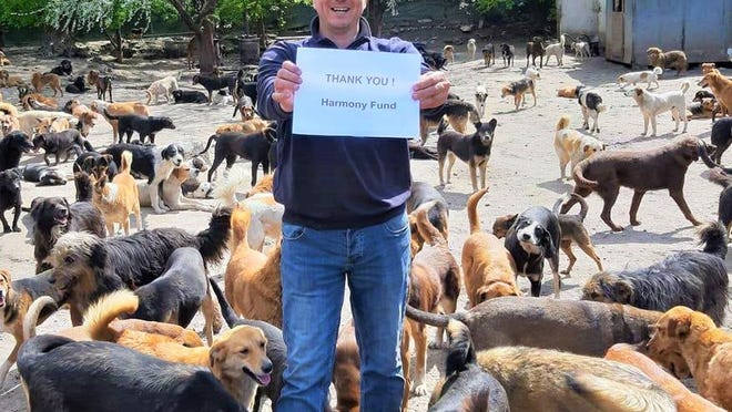 Sasha Pesic thanks Harmony Fund for assistance from his sanctuary in Nis, Serbia.