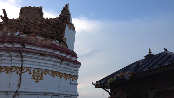 Many centuries-old buildings were reduced to rubble in the April 25 earthquake that struck Nepal.