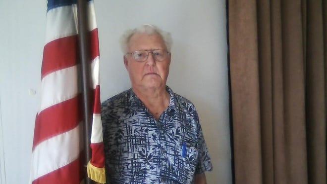 Korean War veteran Harold Hovedestad of Desert Edge.