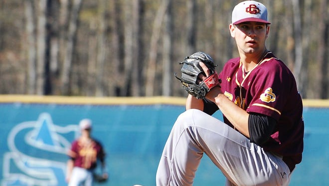 Tyler Mondile of Gloucester Catholic was taken in the sixth round of Friday's amateur draft by the Cincinnati Reds.