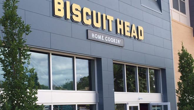 Biscuit Head Greenville is set to open this week at the South Ridge development.