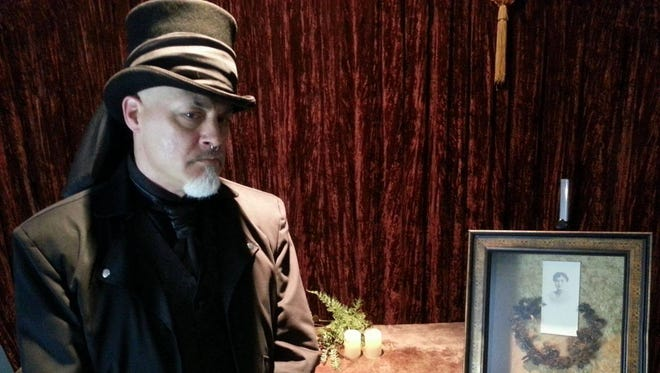 Curator Mark Dickinson will discuss the Gilded Age obsession with death during a coffee event Saturday at Phelps Mansion Museum in Binghamton.