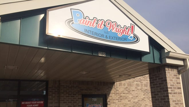 Paint it Wright, a new painting store, plans to open at 700 W. Murdock in January.