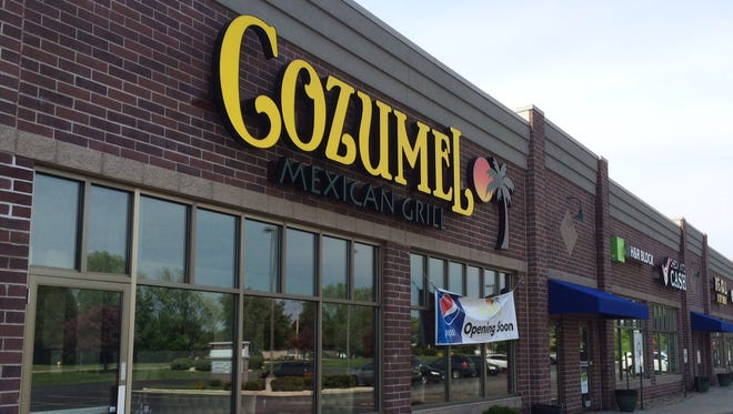 Coumel Mexican Grill, 2065 Witzel Ave.,  is open on Oshkosh's west end.