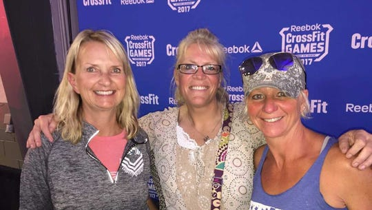Kim Dietz (from left), Cindy Hiber and Stephanie Gedicke