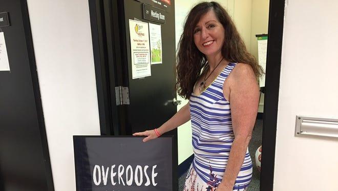 Maureen McLoughlin, founder/executive director of Families Against Addiction Inc. in Old Bridge.