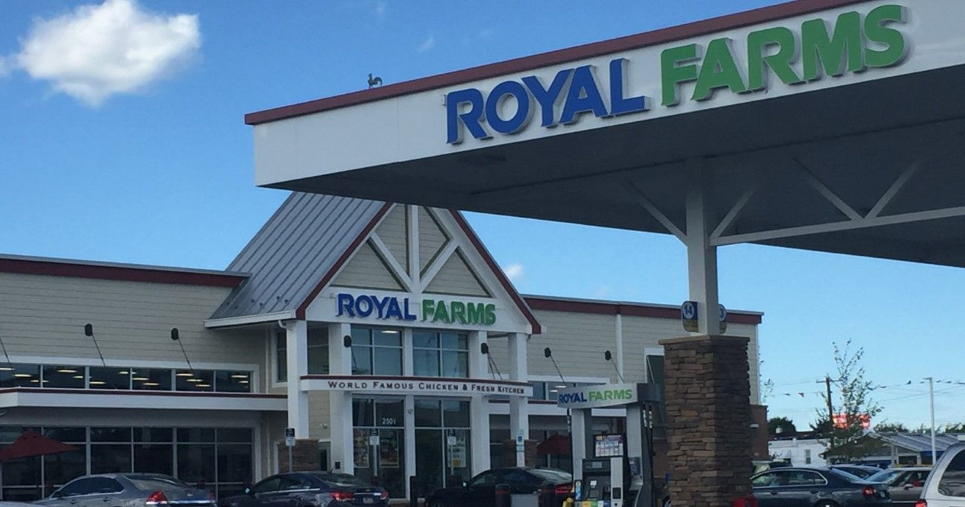 Royal Farms chicken tops Food & Wine\'s list of best gas station food