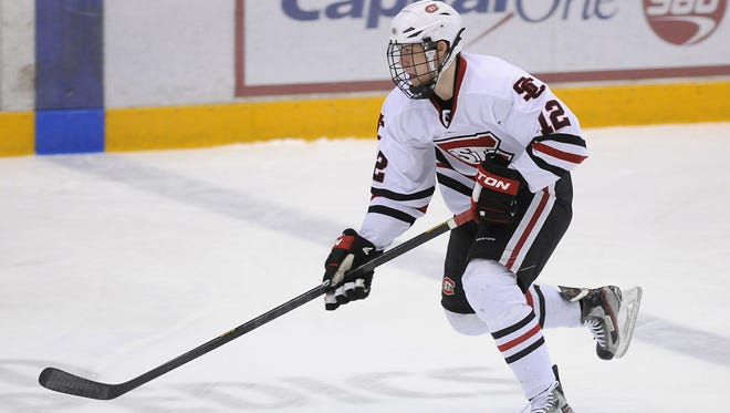 Ethan Prow, who recently completed his senior season with the St. Cloud State men's hockey team, has signed a two-year deal with the Pittsburgh Penguins. The contract begins next season, but Prow will join the Wilkes-Barre/Scranton Penguins for the end of the American Hockey League season.